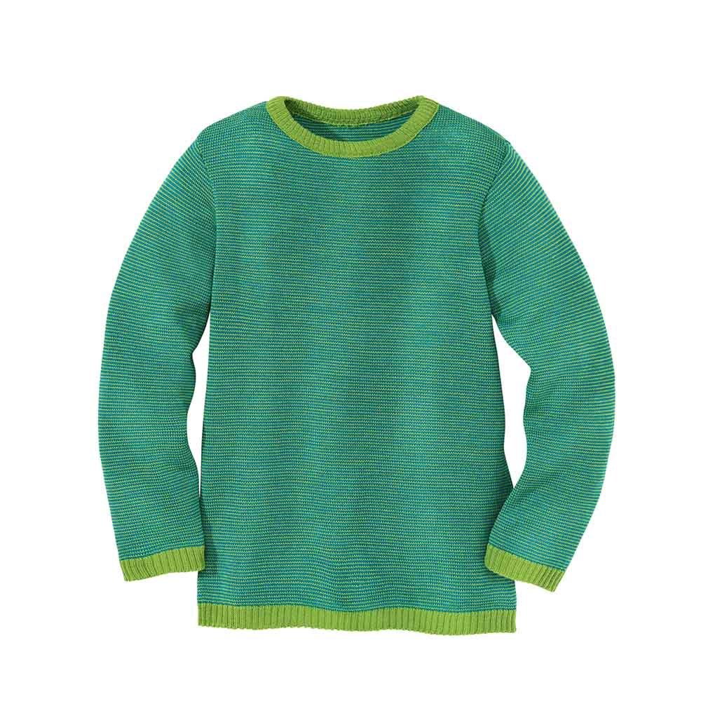 62c04373f6d8b8 Maglione bambini in lana merino biologica - Disana