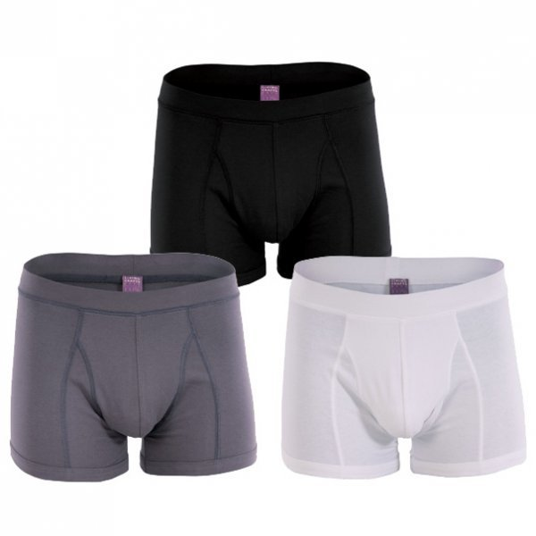 Classic man shorts in organic cotton - 2 pc