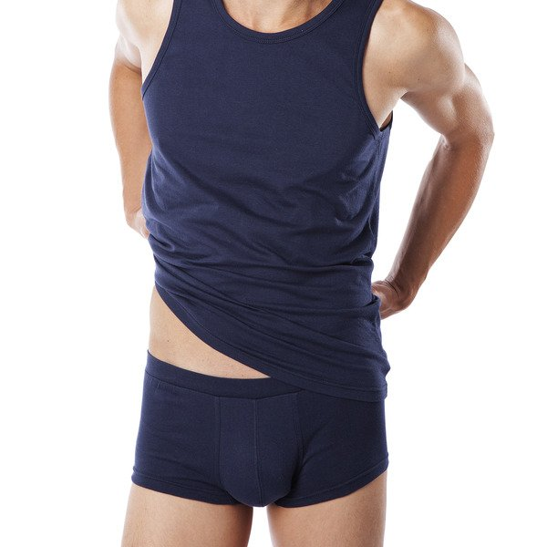Classic man shorts in organic cotton