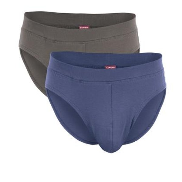 Man slip in organic cotton - 2 pc