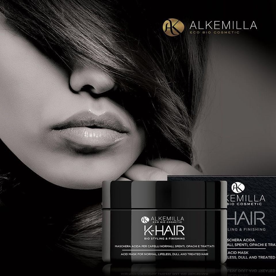 Maschera Capelli Acida K-Hair Alkemilla BioVegan
