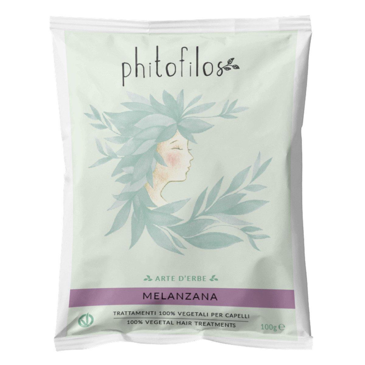Miscela Melanzana Phitofilos tintura riflessante naturale