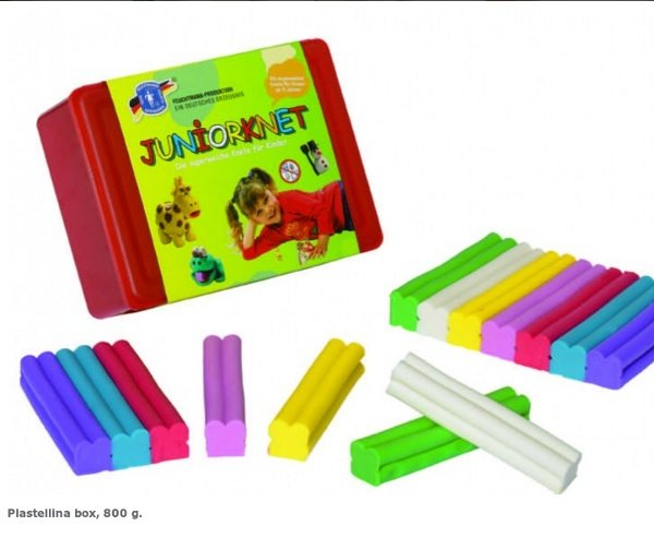 Modeling clay ecological box of 800 gr