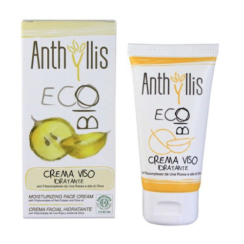 Moisturizing face cream organic - Anthyllis