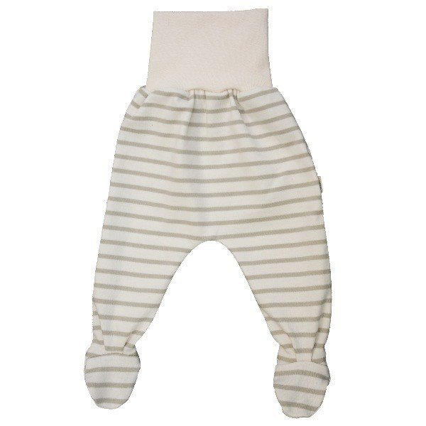 Newborn striped light footed pants
