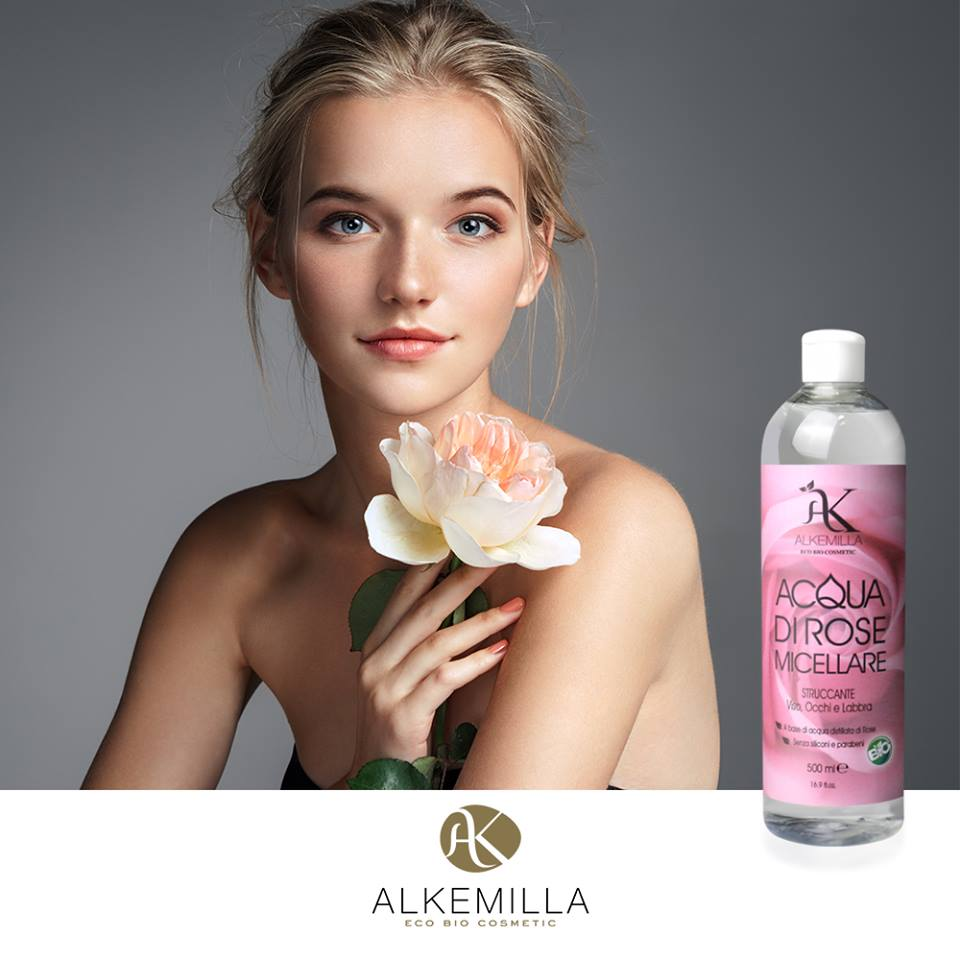MICELLAR LOTION BASED ON ROSEWATER FROM DAMASK ROSE