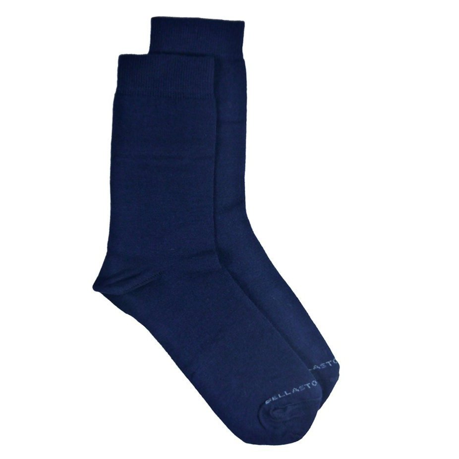 Bamboo MidCalf Socks Navy