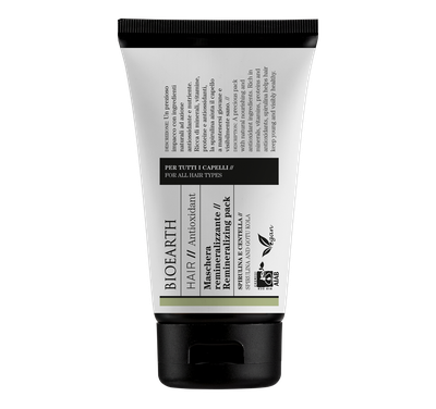 Bioearth remineralizing hair mask