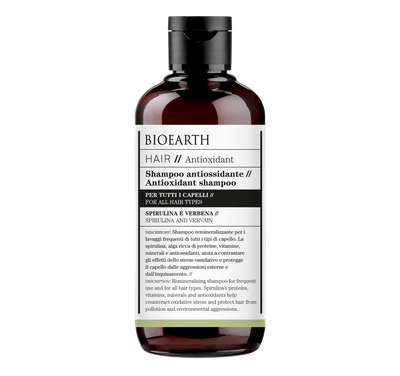 Antioxidant antioxidant shampoo Bioearth