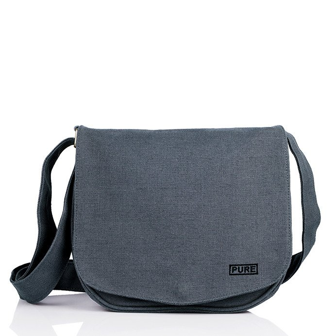 6f1d5412b4ff Hemp and Vegan shoulder bag - Pure Bags