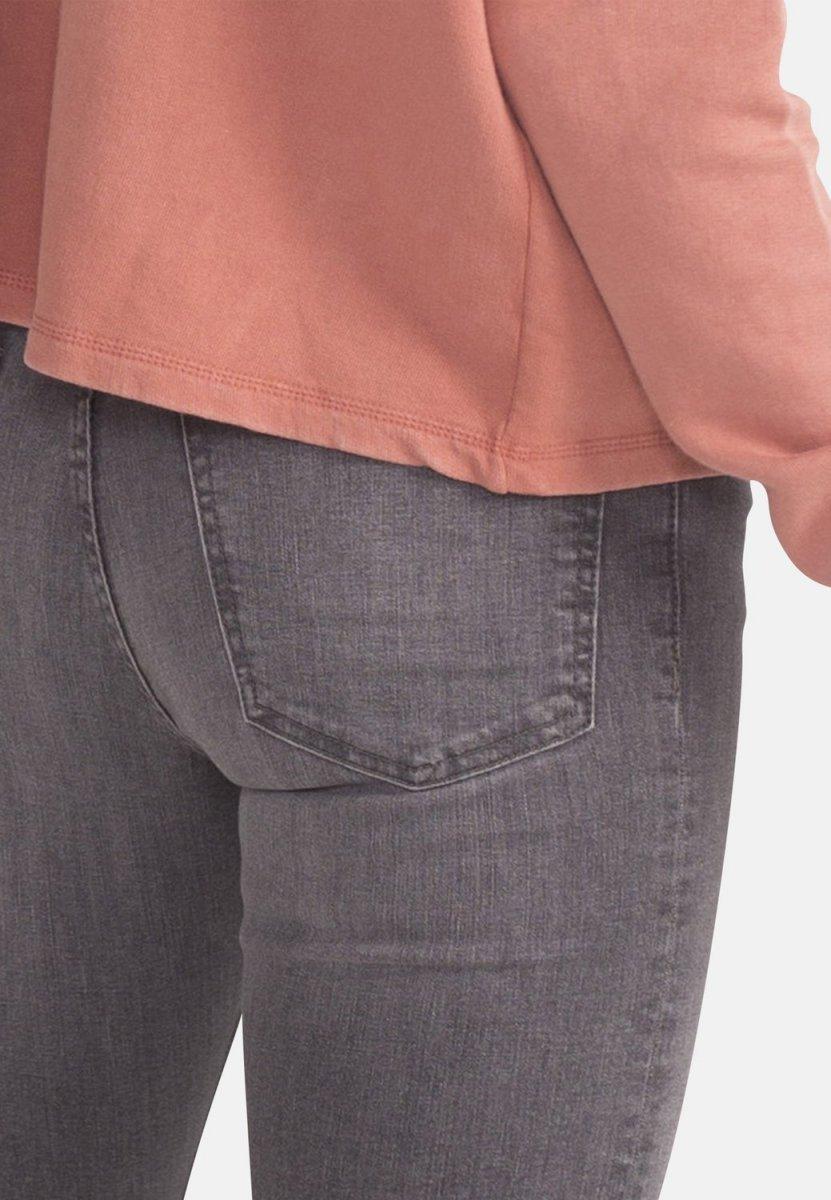 3276eca660 Light Grey Eco Wash Jane High Waisted Super Skinny Organic Jeans ...