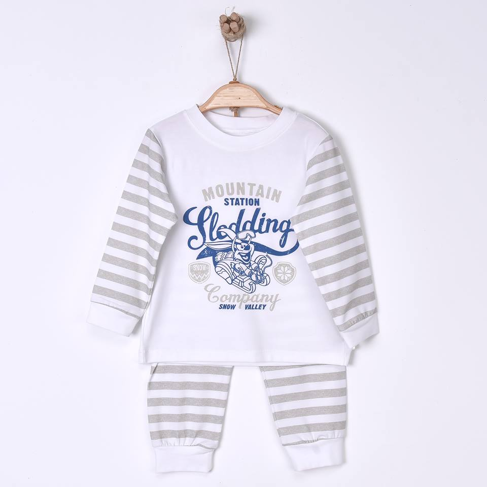 Mountain Station Children's Organic Cotton Pajamas