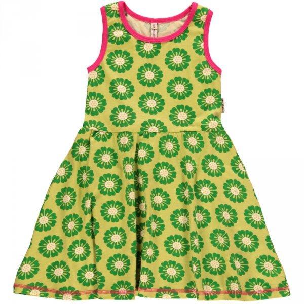 Dress no sleeve Calendula in organic cotton
