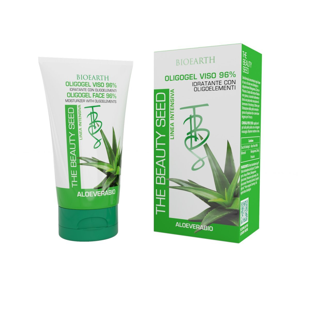 The Beauty Seed Oligo gel viso Aloe 96%