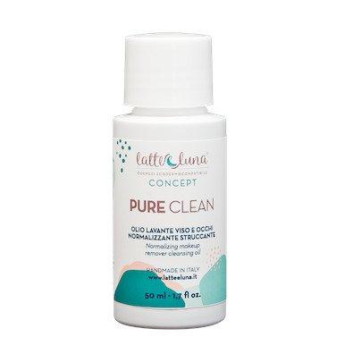 Olio lavante VIso PURE CLEAN, normalizzante e struccante
