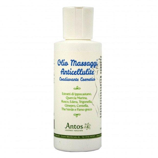 Olio per massaggi anticellulite