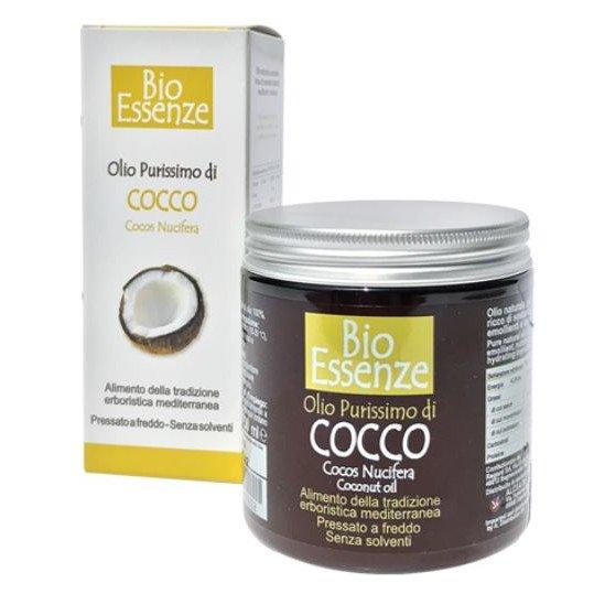Olio di Cocco purissimo BioEssenze qualità alimentare
