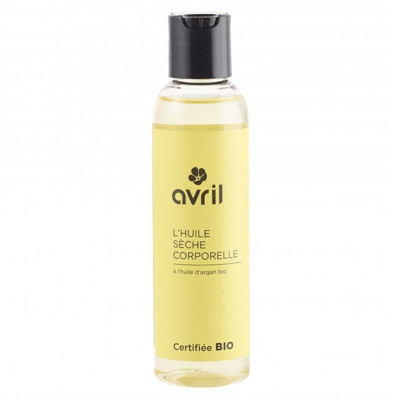 Olio secco corpo all'olio di argan  biologico Avril