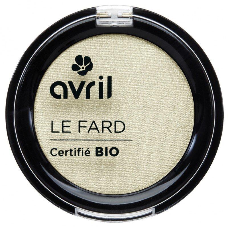 Ombretto Avril Bianco Ivoire iridato biologico