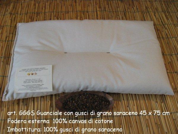 Organic buckwheat pillow