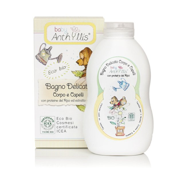 Delicate bath body and hair - Baby Anthyllis