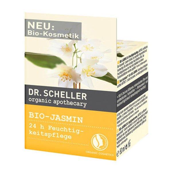 Organic Jasmin 24h moisture care cream dry skin - Dr. Scheller