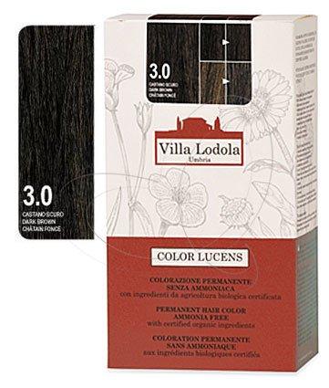 Organic Permanent Hair Color 3.0 Dark Brown