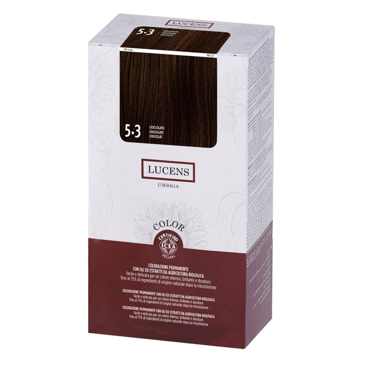 Organic Permanent Hair Color 5.3 Chocolate