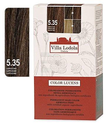 Organic Permanent Hair Color 5.35 Cappuccino