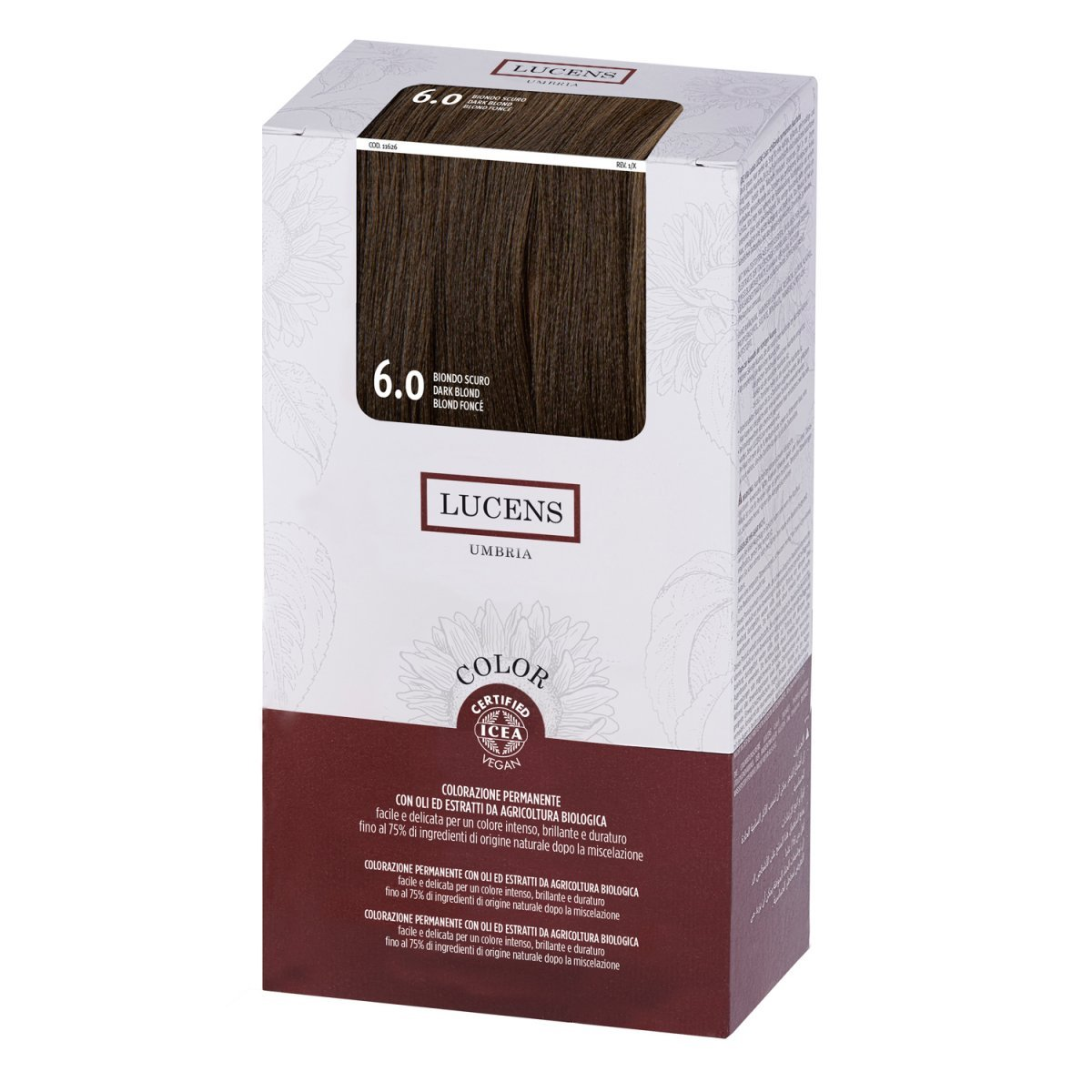 Organic Permanent Hair Color 6.0 Dark Blond