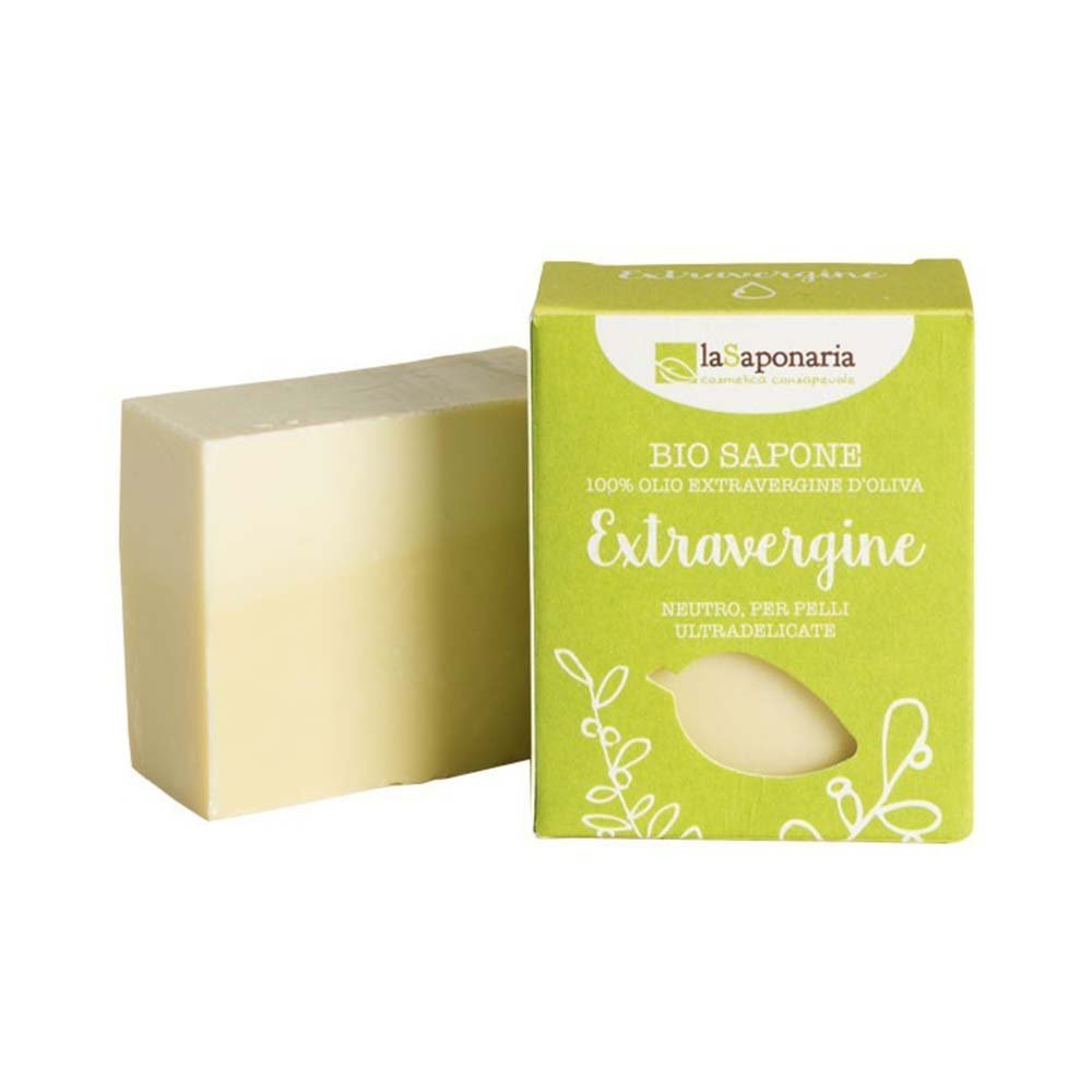 Organic solid soap with organic oil