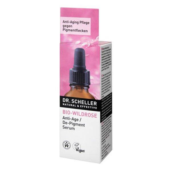 Organic wild rose anti-age de-pigment serum - Dr Scheller