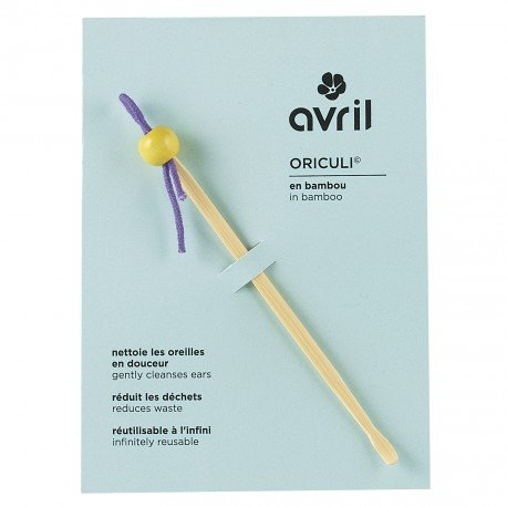 Oriculi© pulisci orecchie ecologico Avril