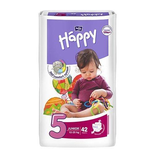 Pannolini Happy BellaBaby - 5 Junior 12/25kg 42 pezzi
