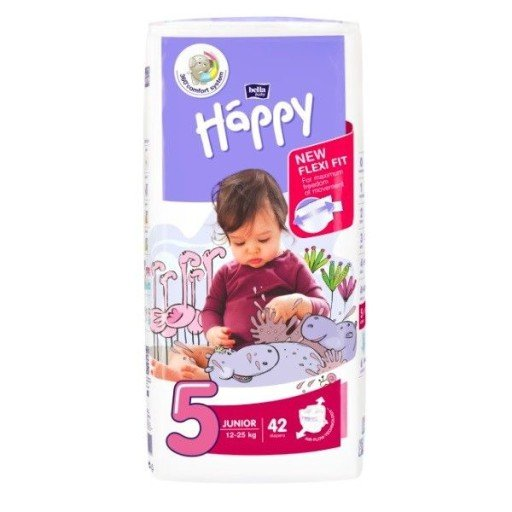 Pannolini Happy BellaBaby - 5 Junior 12/25kg 42 pezzi