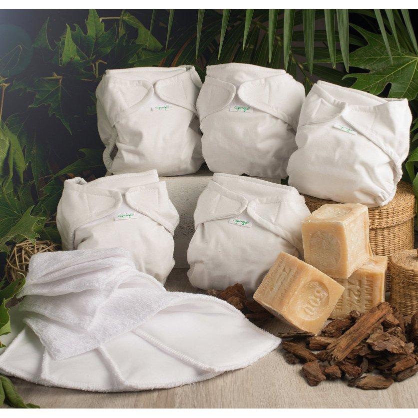 Agunga Kit completo pannolini lavabili - Linea Basic