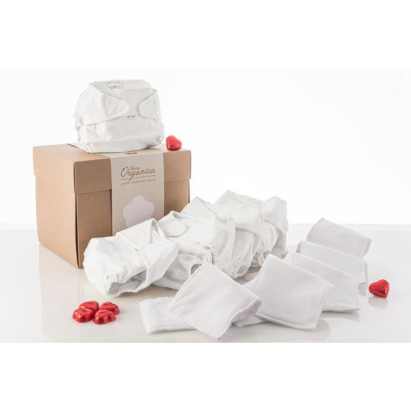 Agunga Kit Corredino Completo pannolini lavabili  - Linea Organica