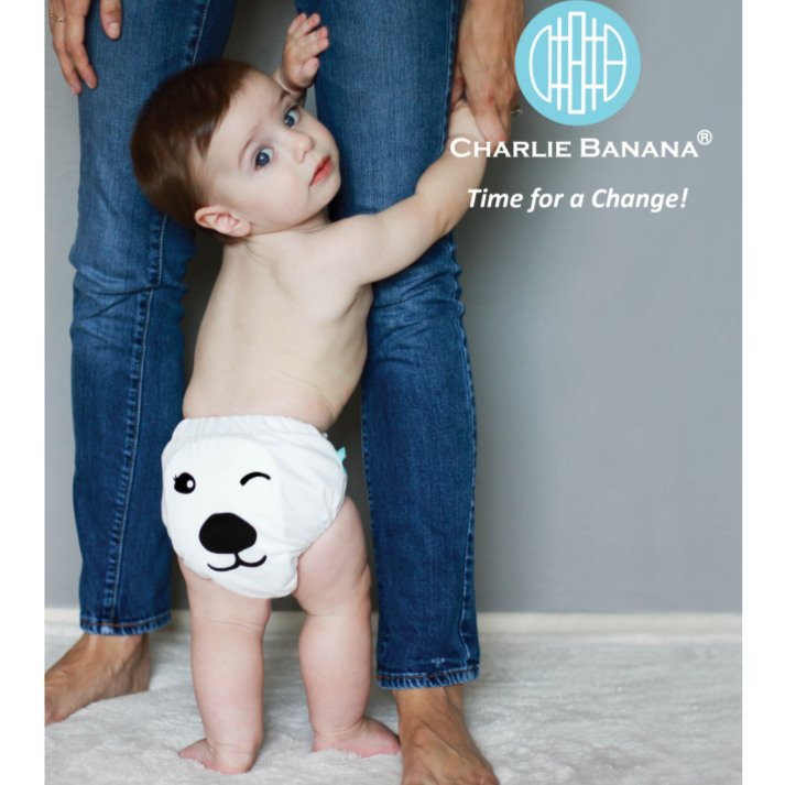 Charlie Banana - Pannolino Lavabile OneSize Hibrid AIO