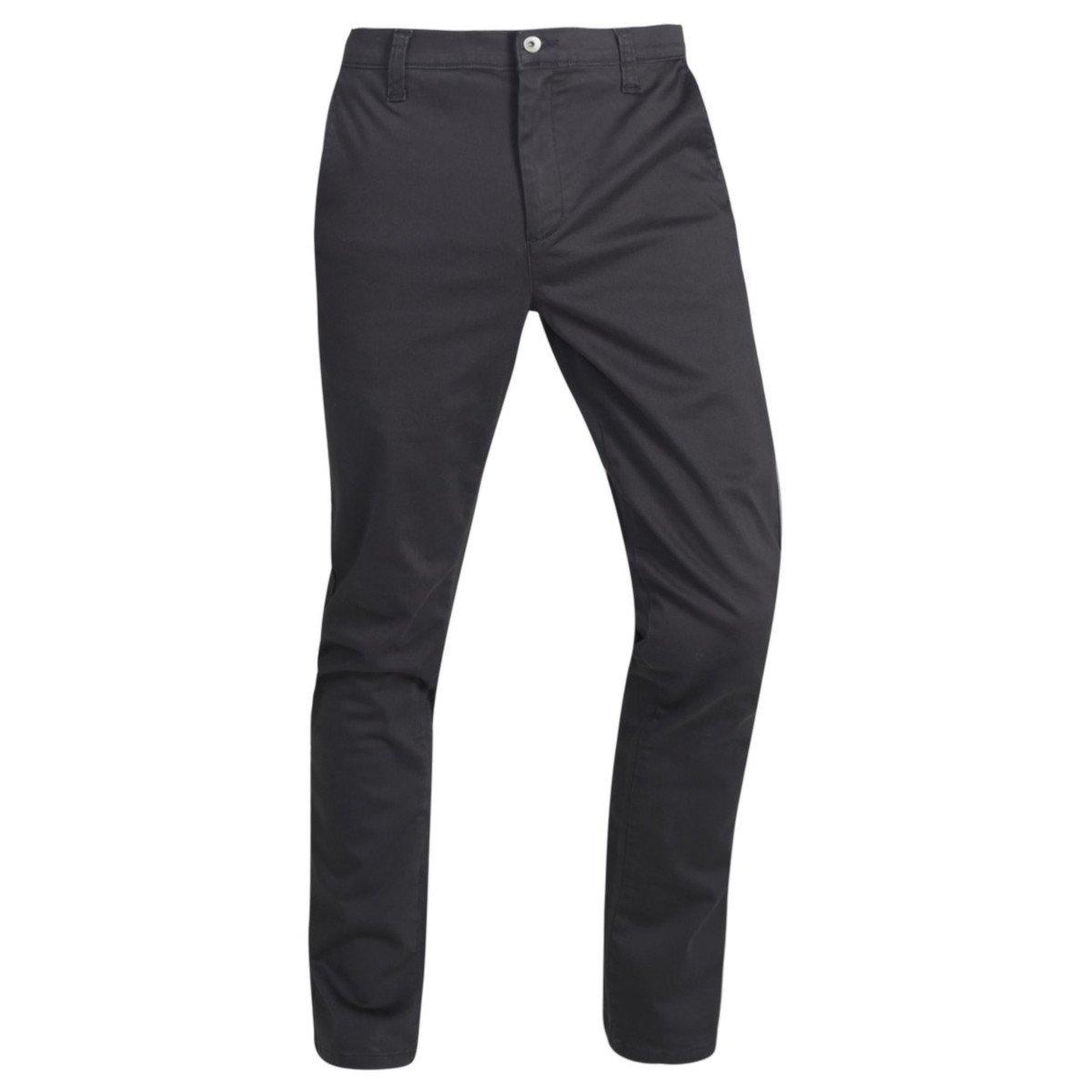 Pantaloni Chino Grigio Ardesia in cotone biologico