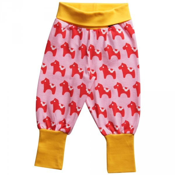Pantalone Cavallino Dala con polsini in cotone biologico