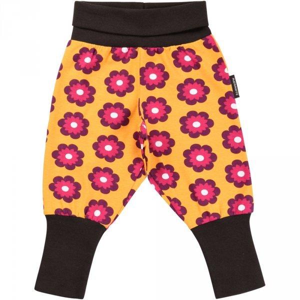 Pantalone Petunia con polsini in cotone biologico