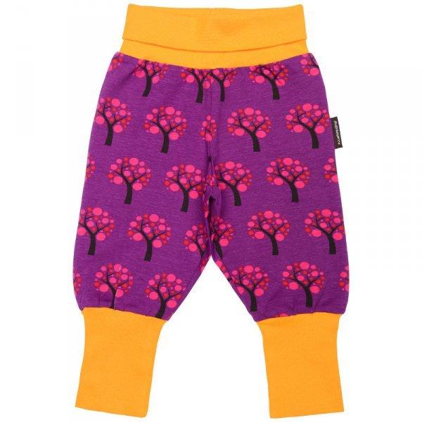 Pantalone Mele con polsini in cotone biologico