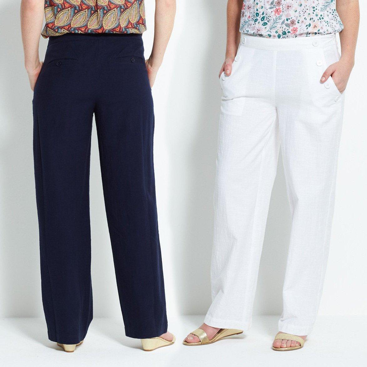 Pantaloni Marinaio in cotone equosolidale