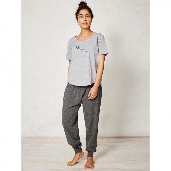Pantalone donna Dashka grigio in bamboo
