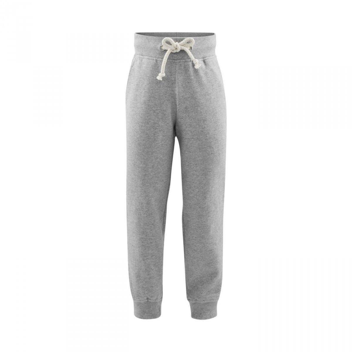 Pantaloni felpato Grigio in cotone biologico