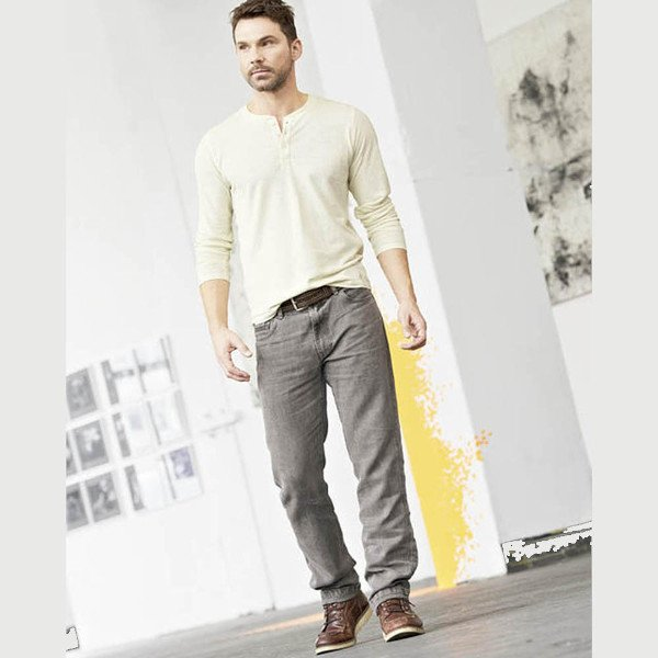 Jeans uomo Rex in 100% canapa