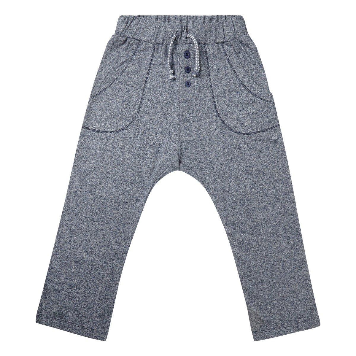 Pantalone TIM in felpa di cotone biologico