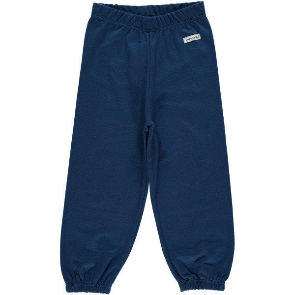 Pantalone tuta blu scuro Maxomorra in cotone biologico