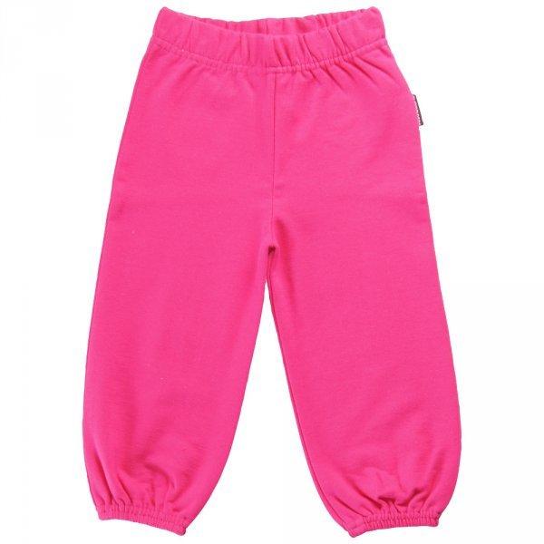 Pantalone bimba tuta Fuxia in cotone biologico