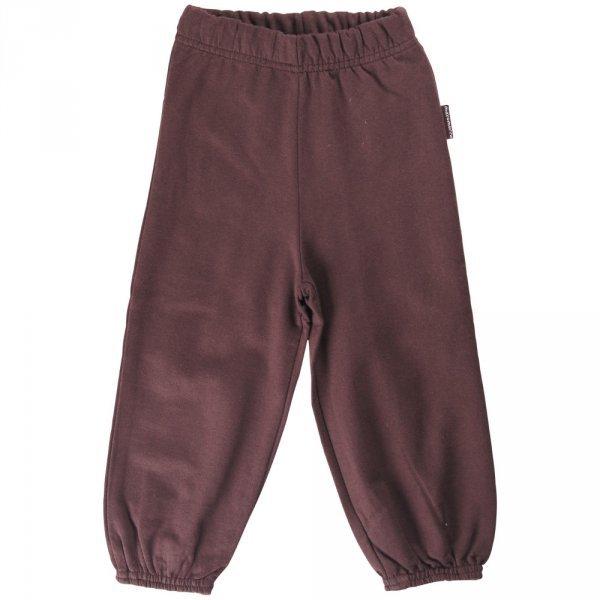 Pantalone unisex Marrone in cotone biologico